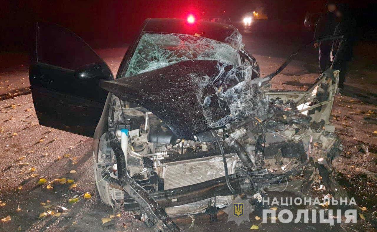 Розбитий Hyundai Accent