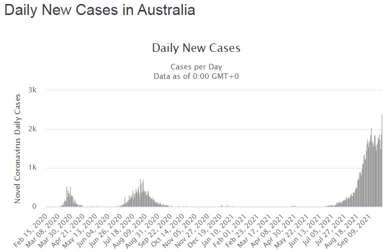 Количество новых случаев, выявленных за сутки