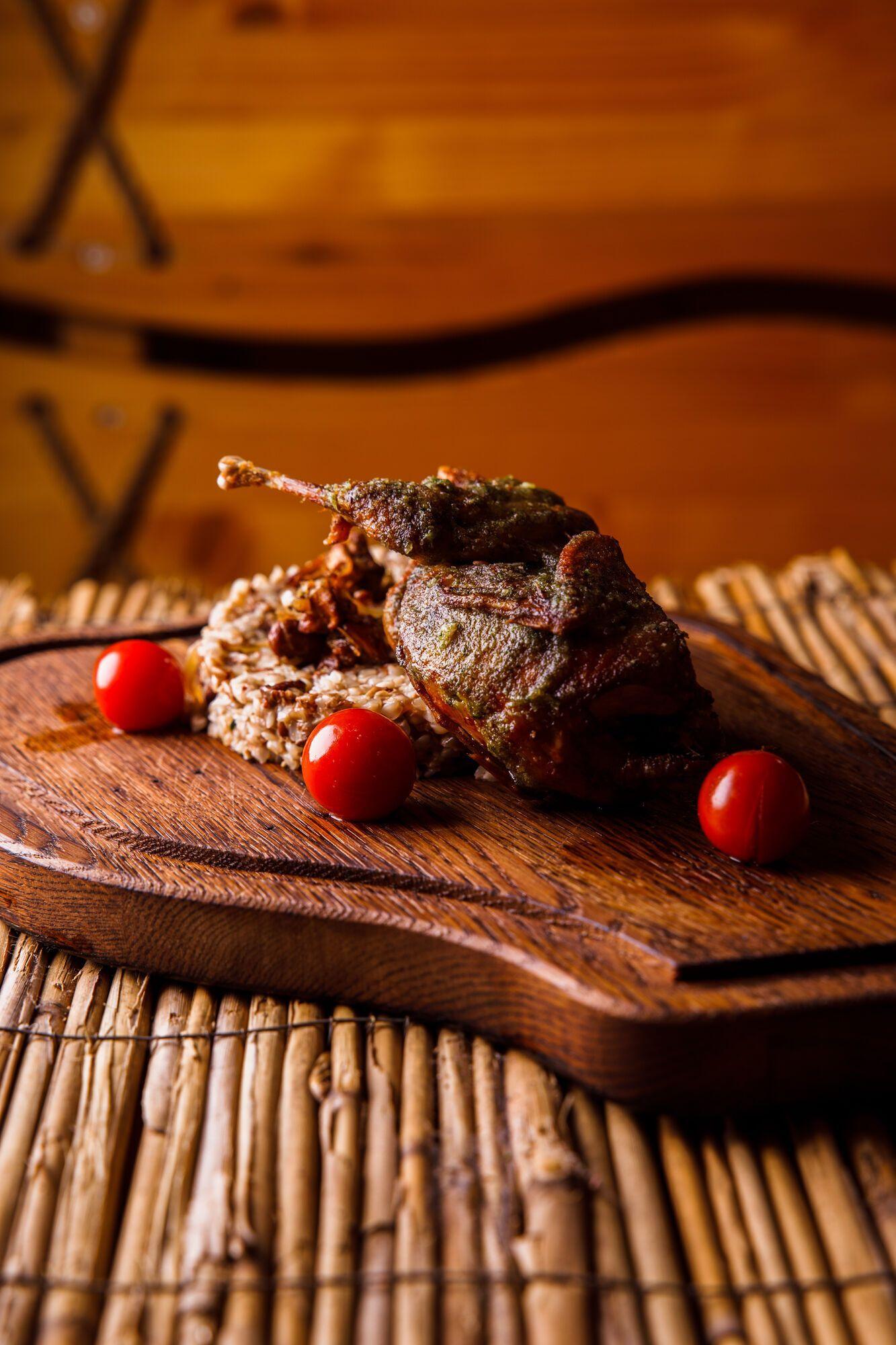 Мясные блюда в ресторане