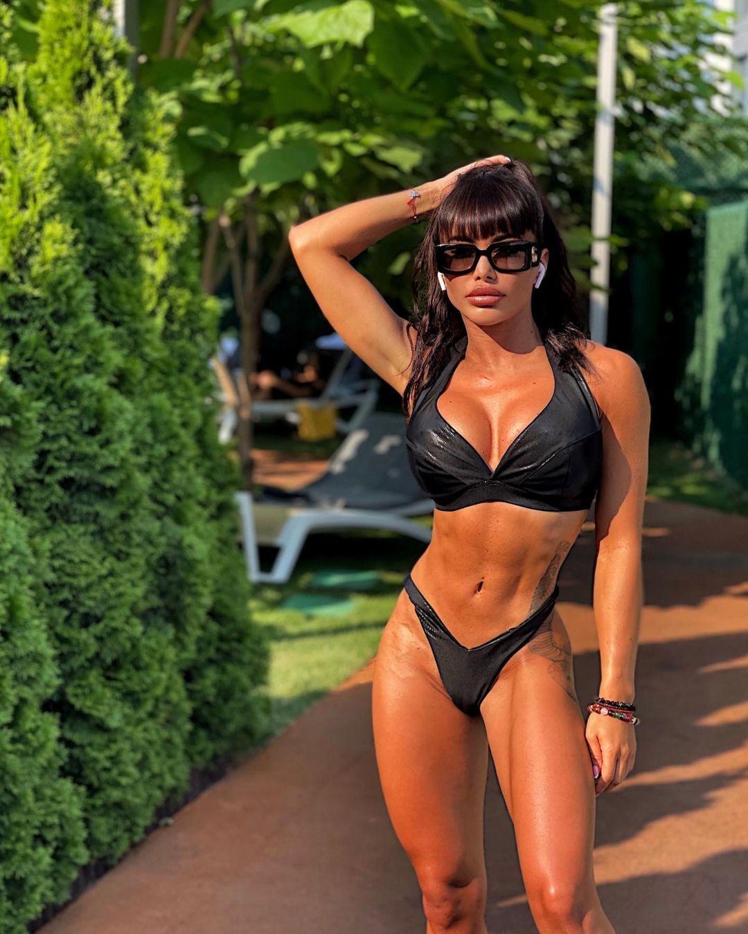 Елена Бойчук после тренировки