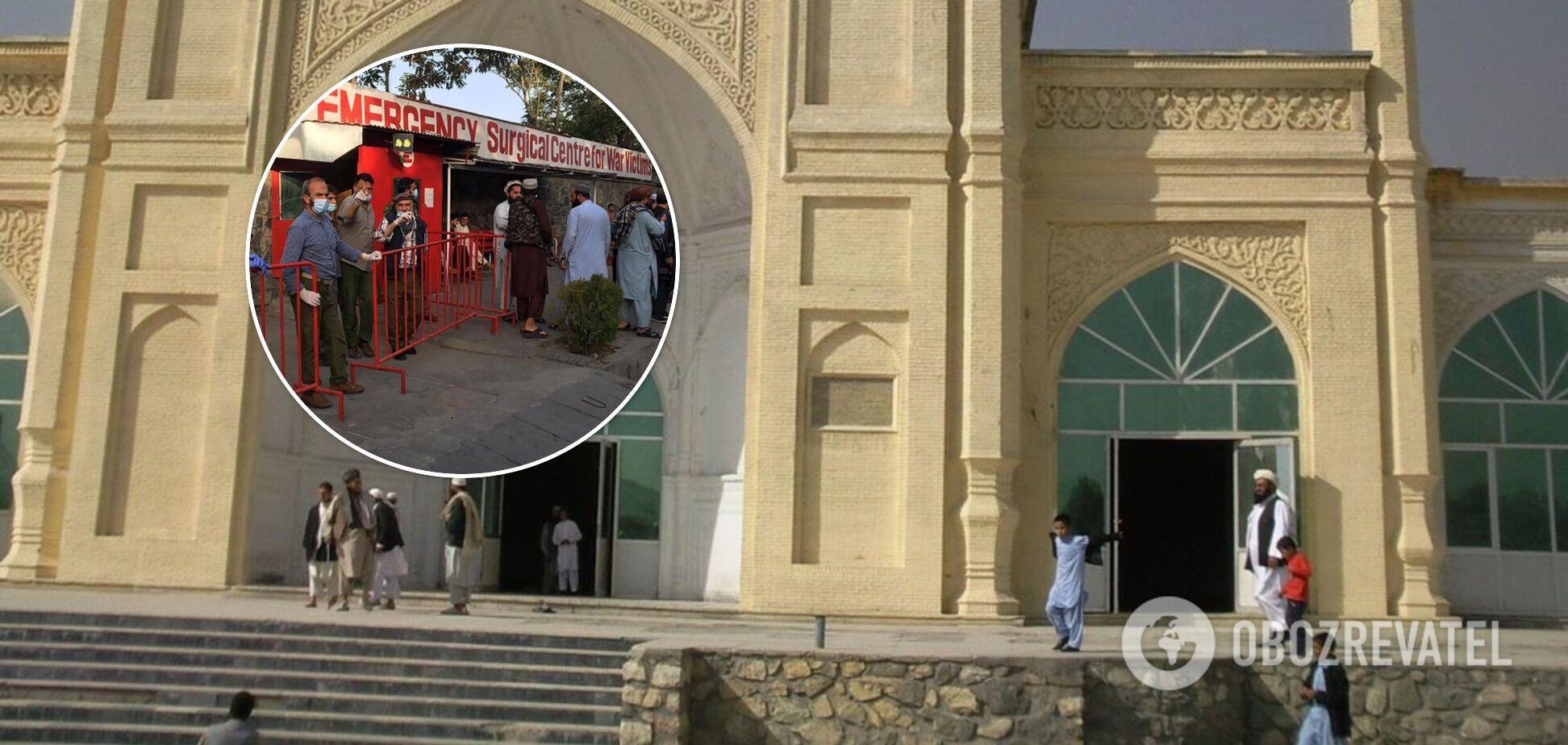 ЧП произошло возле ворот мечети