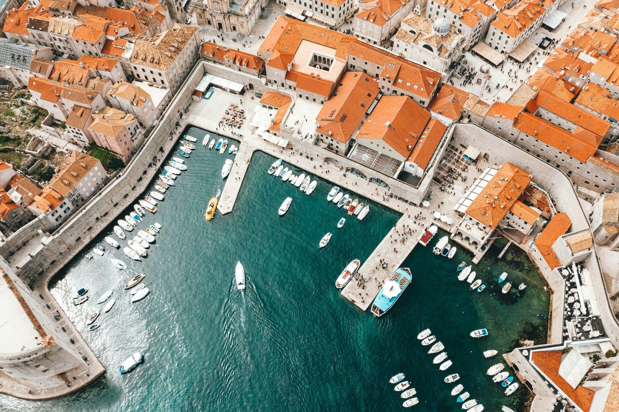 Місто Спліт у Хорватії.