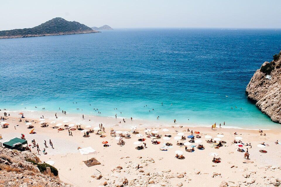 Пляж Капутас у Туреччині.