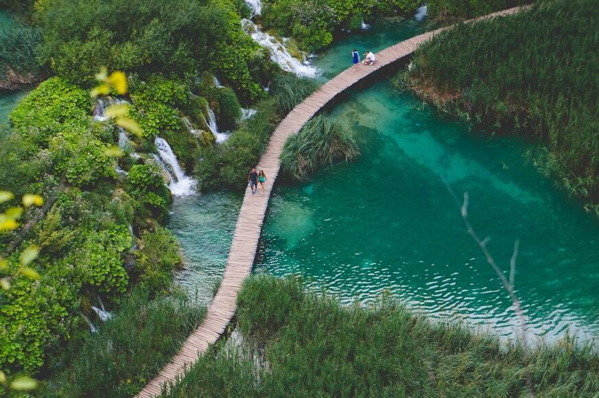 Національний парк у Хорватії.
