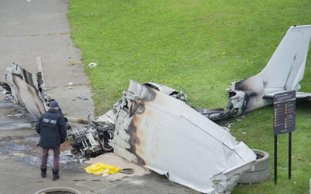 У Канаді розбився літак.