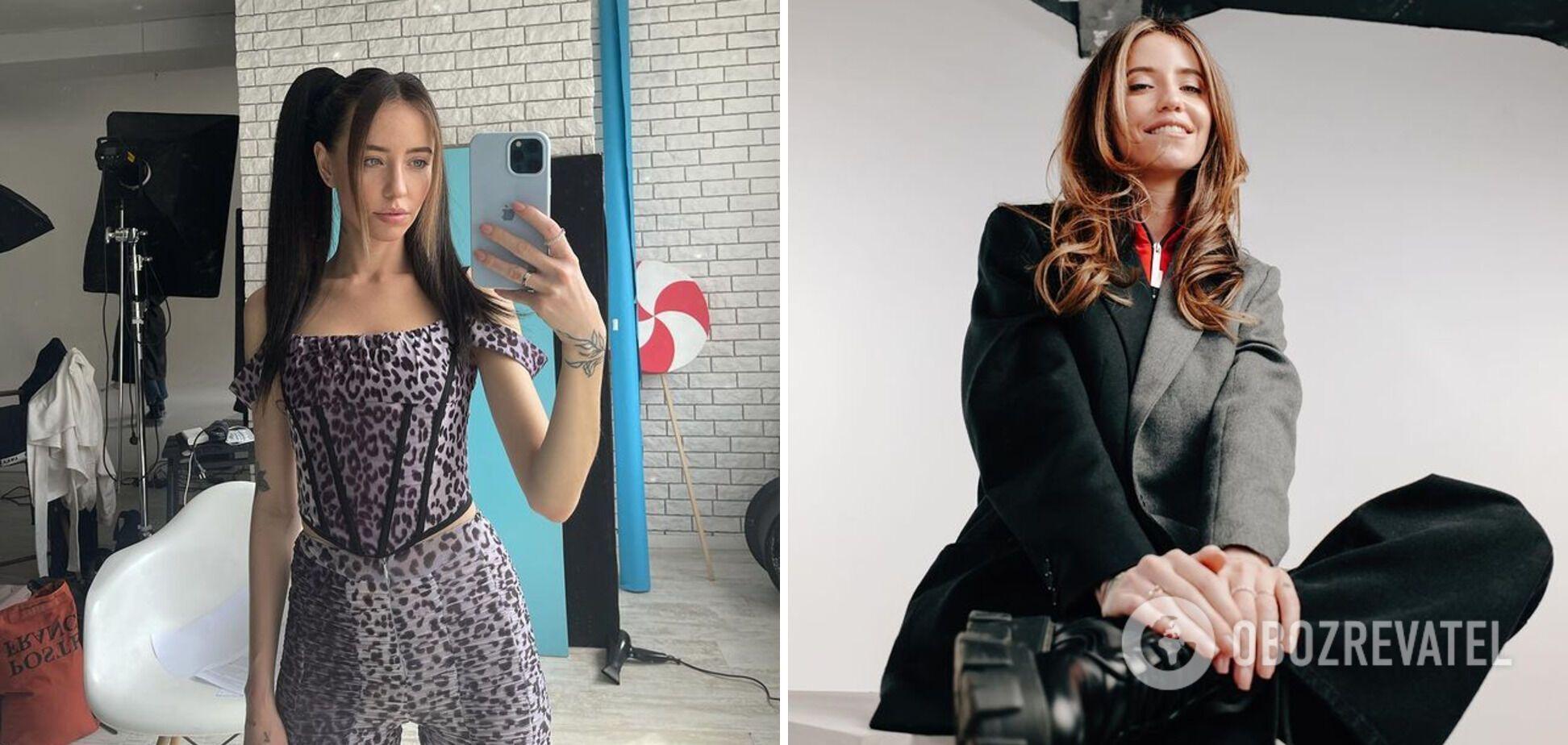 Надя Дорофеева с хвостиками и укладкой