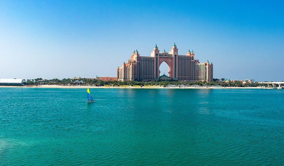 Пляжный отдых в ОАЭ.