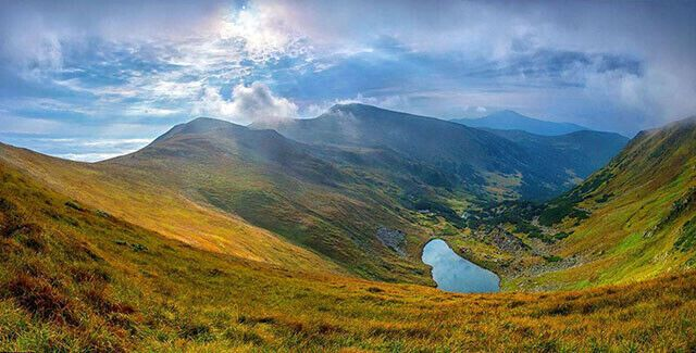 Озеро Бребенескул.