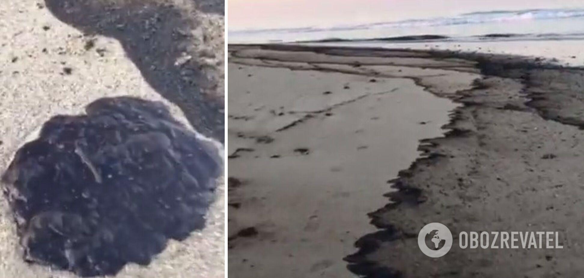 Нафтова пляма покрила близько 20 кв. км океану