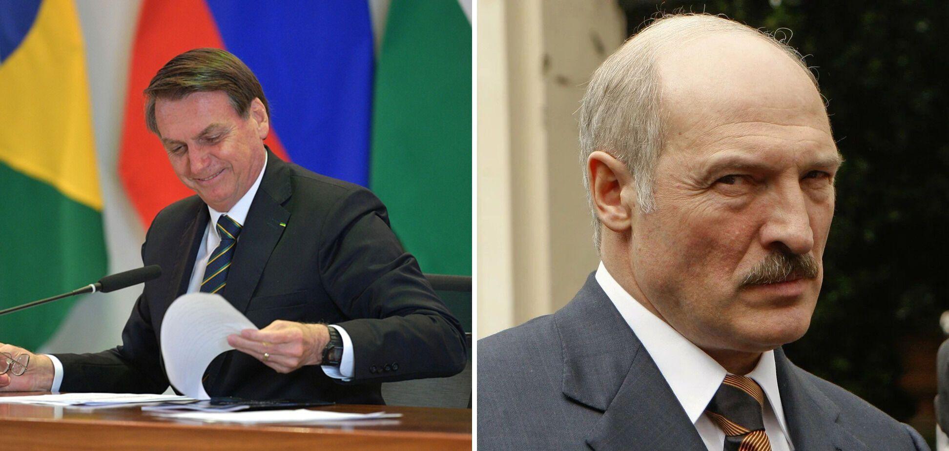 Жаир Болсонар и Александр Лукашенко