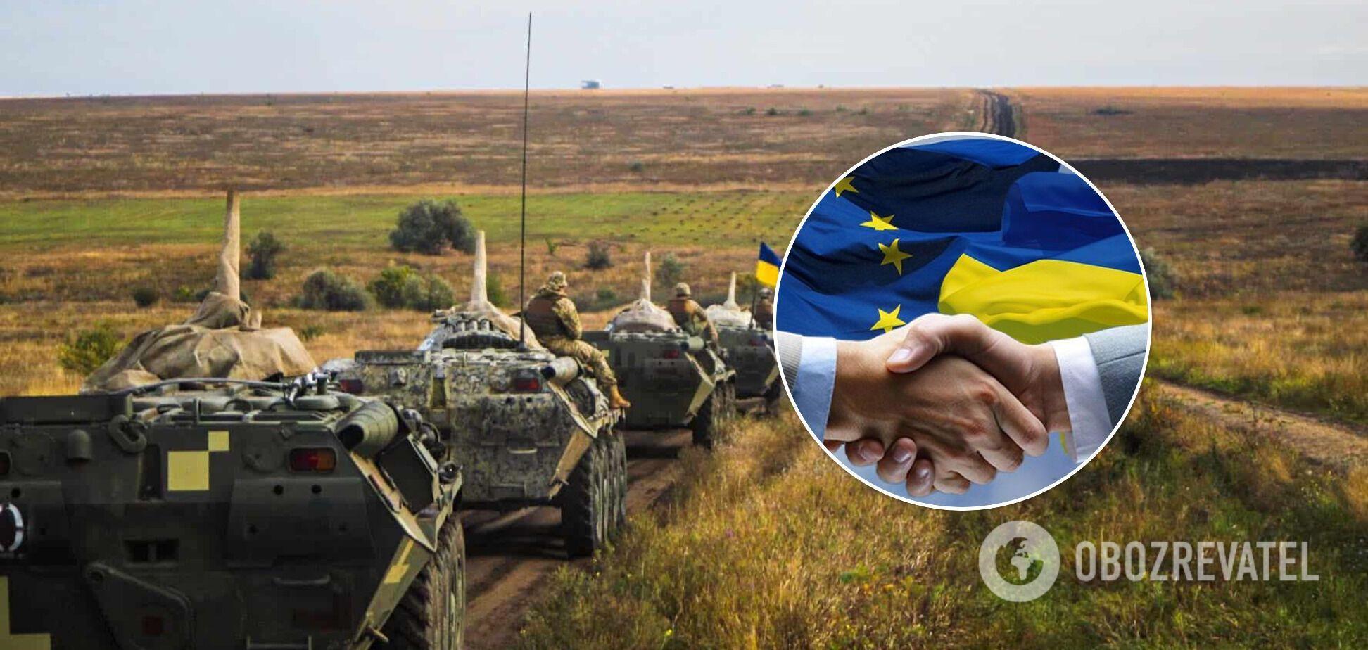 Військово-навчальна місія ЄС може бути створена в Україні