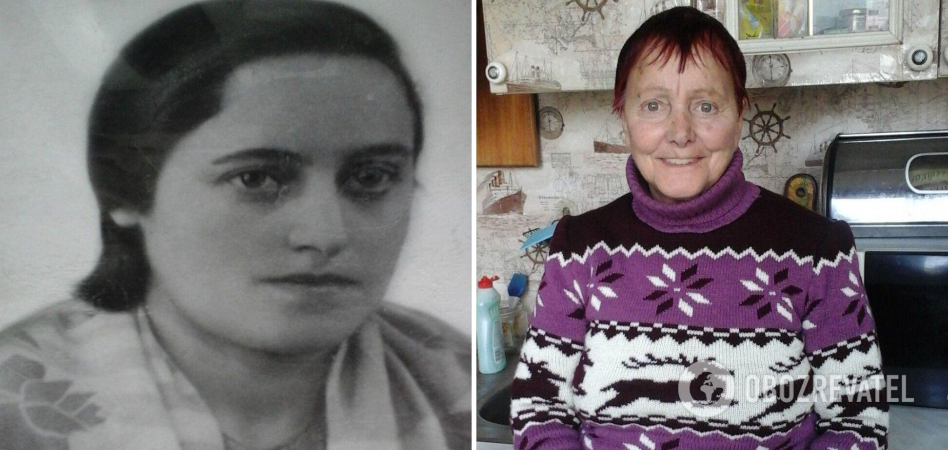 Погибшая в Бабьем Яру Циля Ковкина и ее дочь Раиса Майстренко.