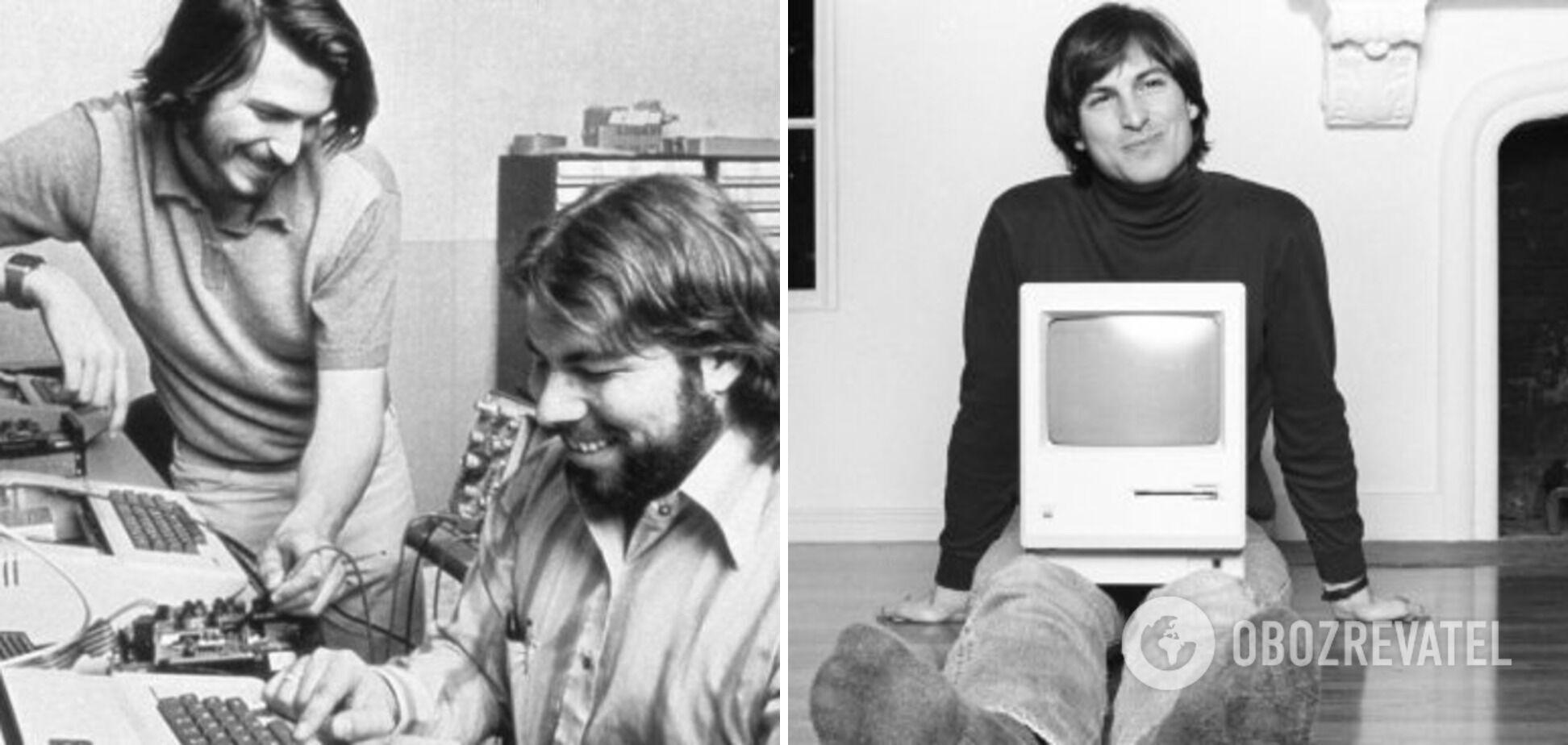 Стів Джобс почав працювати техніком у 13 років