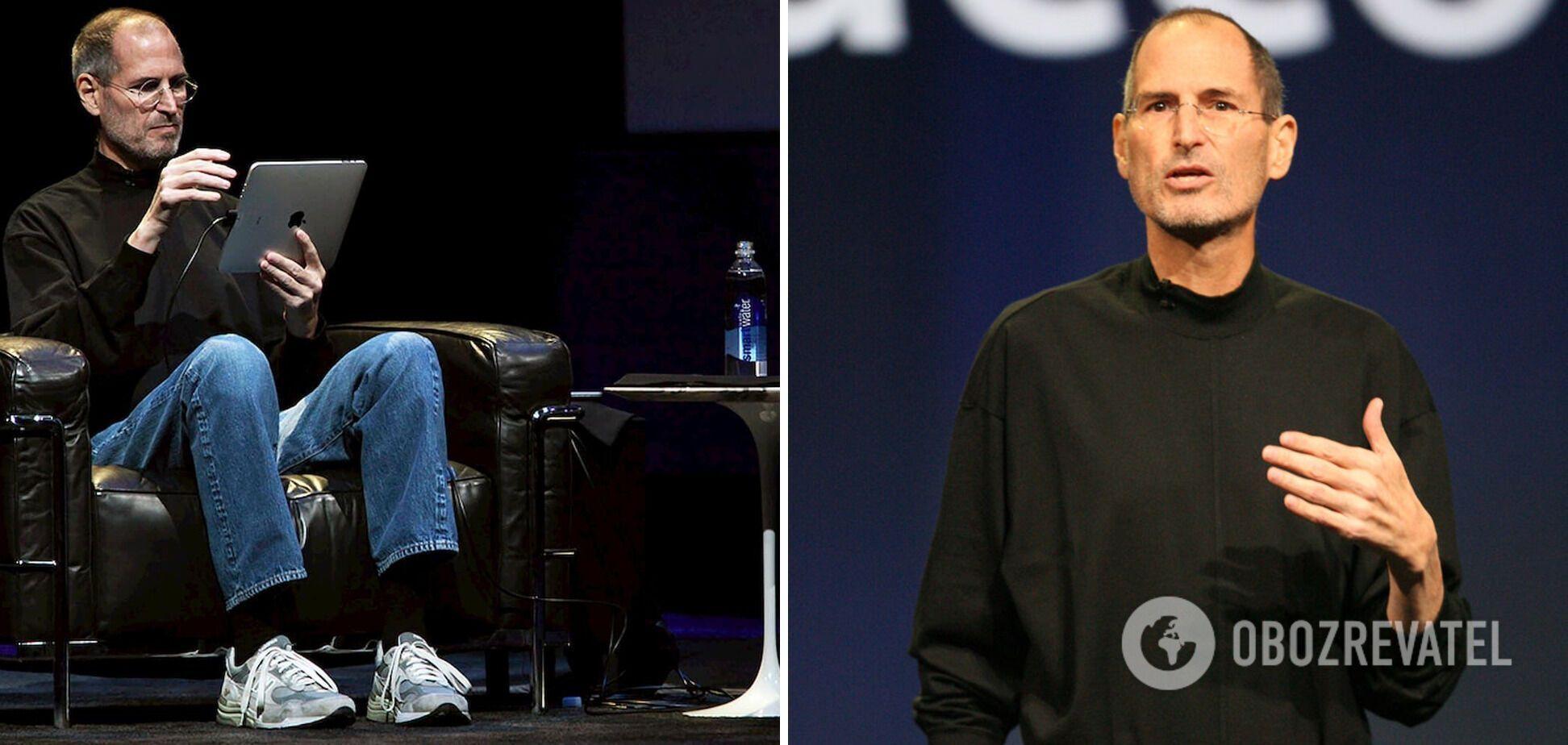 Стів Джобс завжди носив лише джинси і чорну кофтину