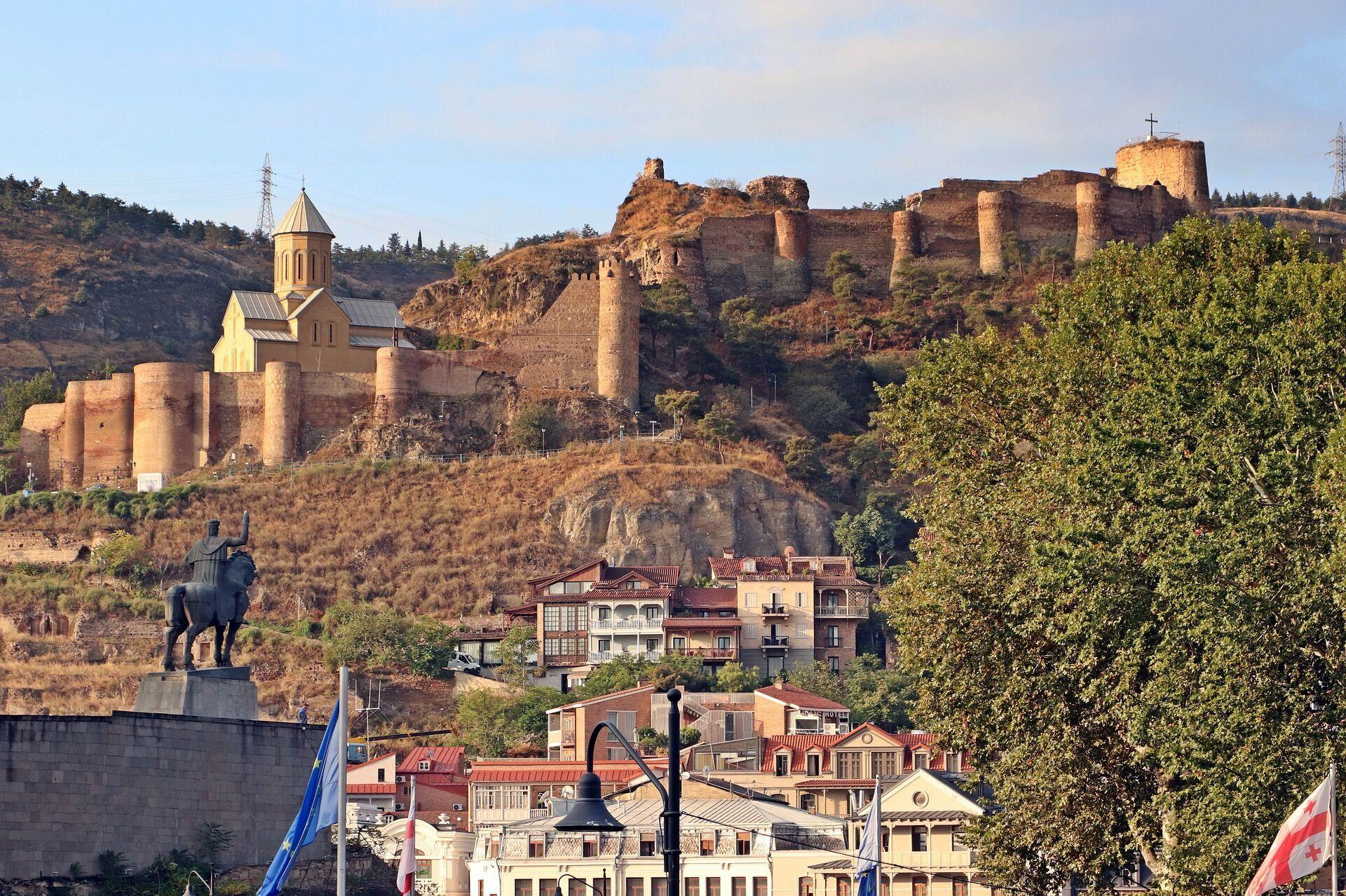 Тбилиси в начале осени.
