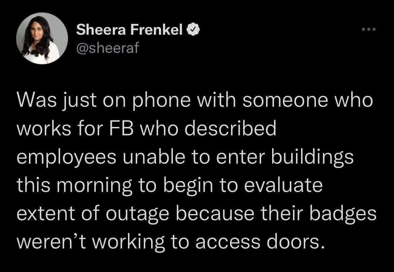 Заблоковано перепустки: співробітники Facebook не можуть потрапити в офіс – The New York Times