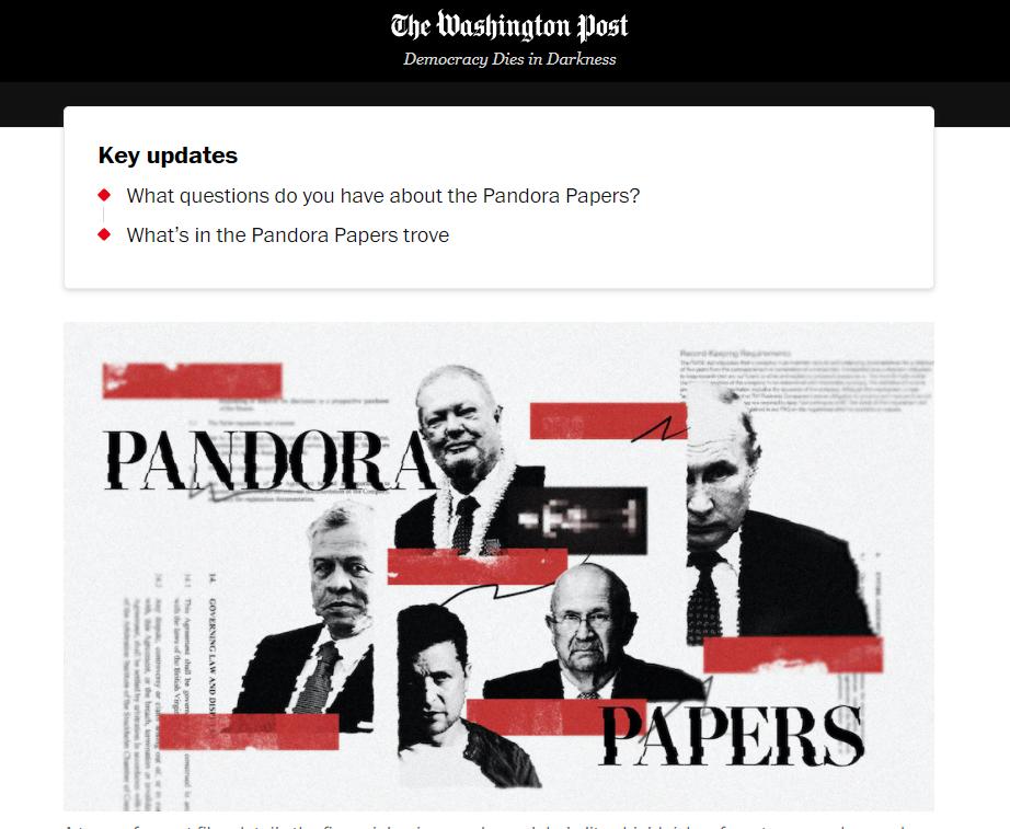 Обложка The Washington Post