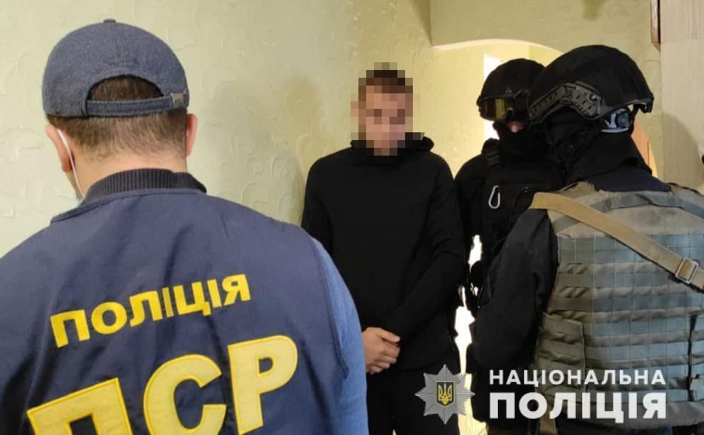 Задержаные члены банды