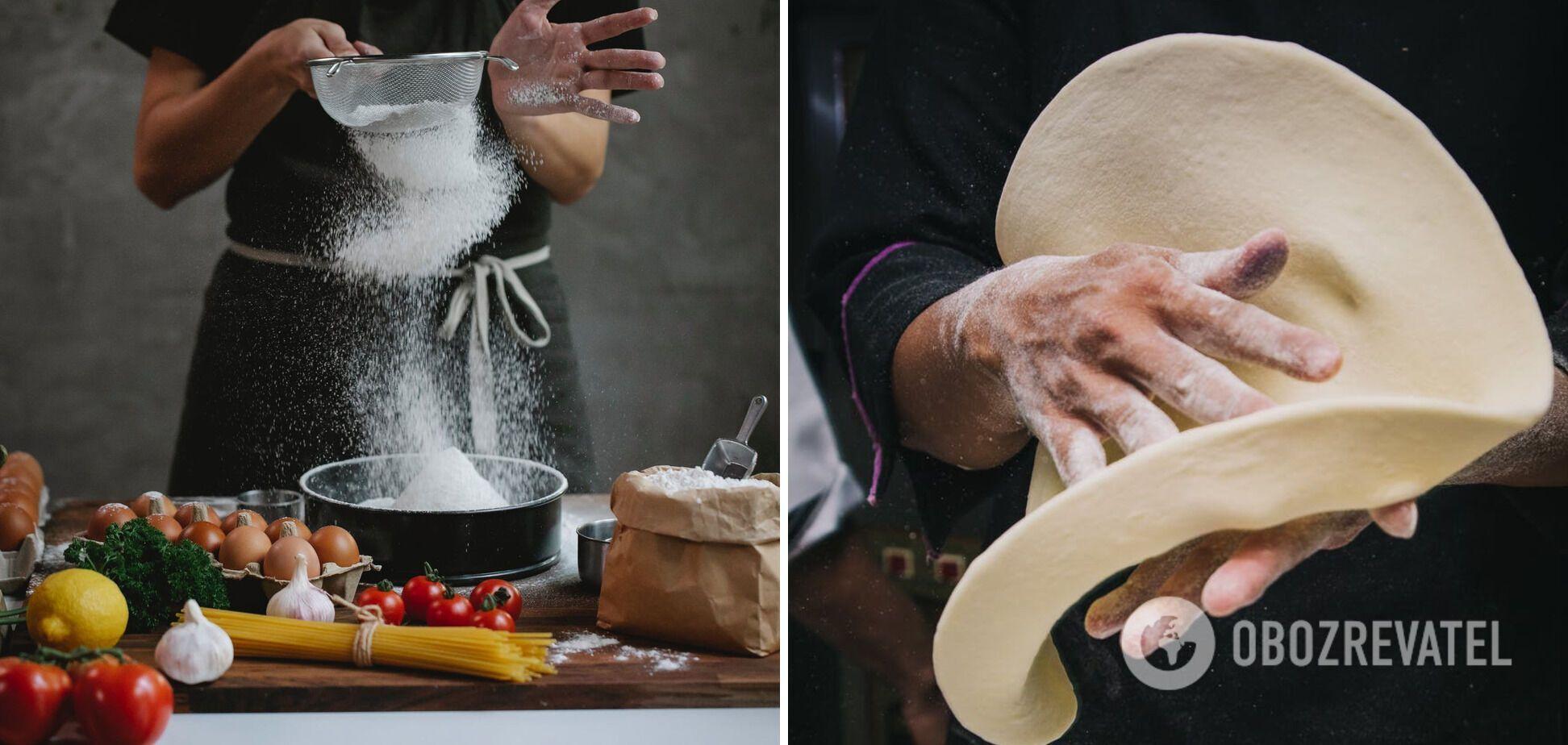 Приготування листкового тіста