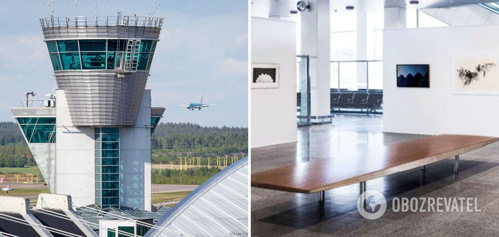 В аэропорту Вантаа есть смотровая площадка и арт-галерея.