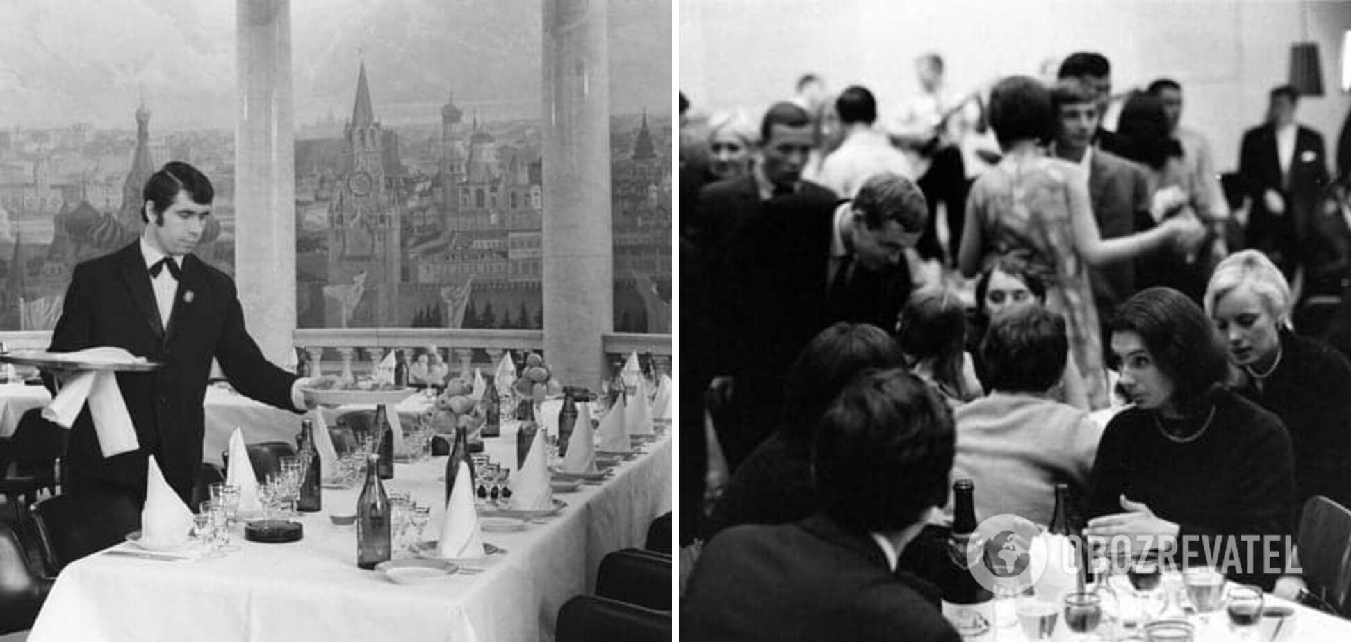 Якими були радянські ресторани