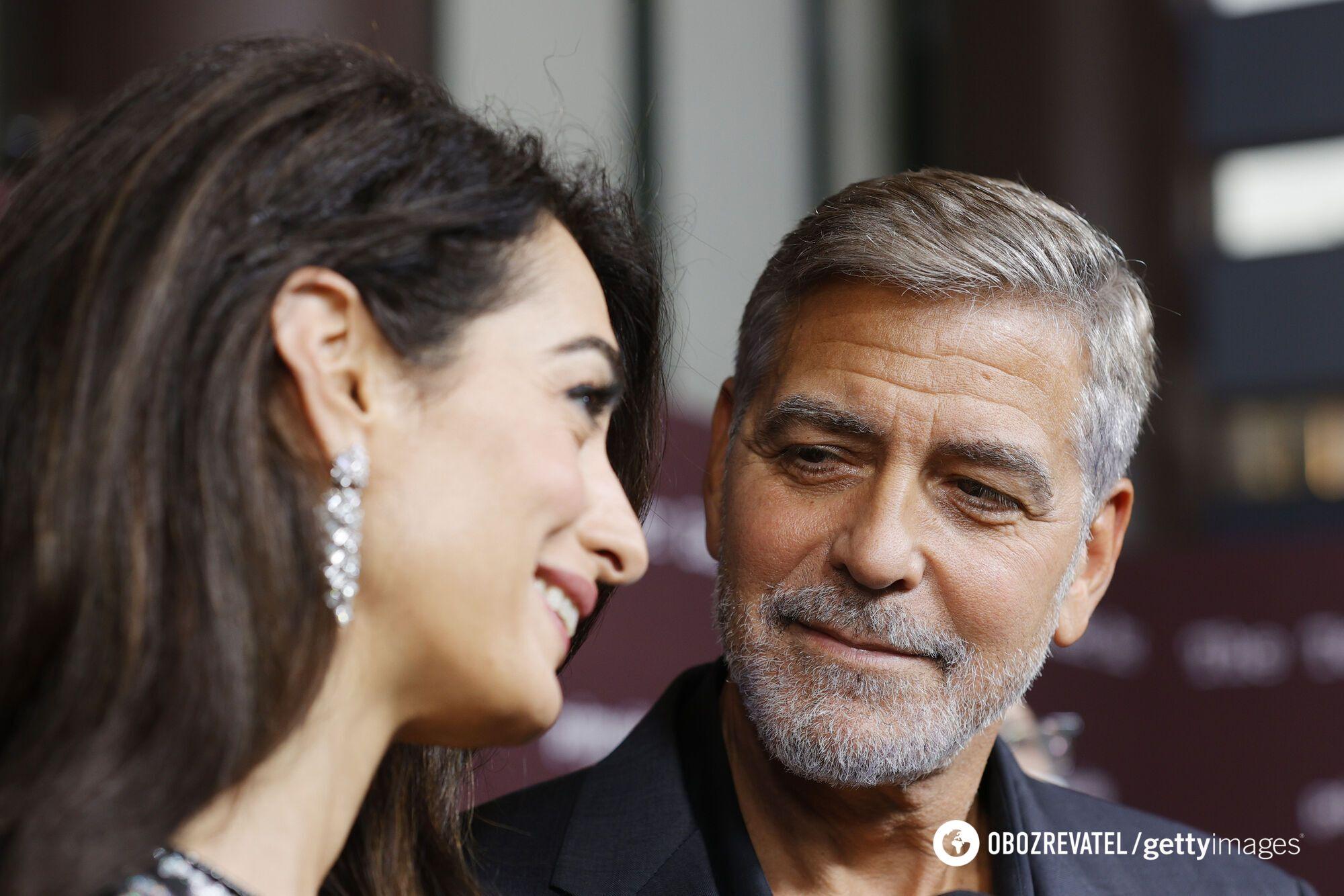 Джордж Клуні з дружиною відвідали прем'єру нового фільму