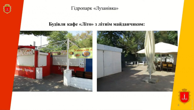 Расположение заведения в Лузановке.
