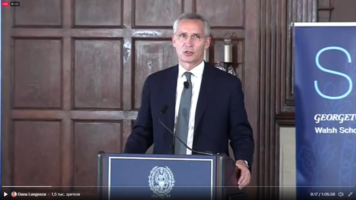 Столтенберг висловився про вступ України й Грузії в НАТО