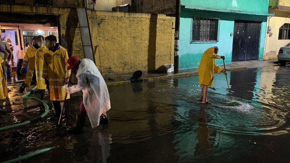 Наводнение в Мексике: более 3,5 тыс. жилых домов оказались под водой.