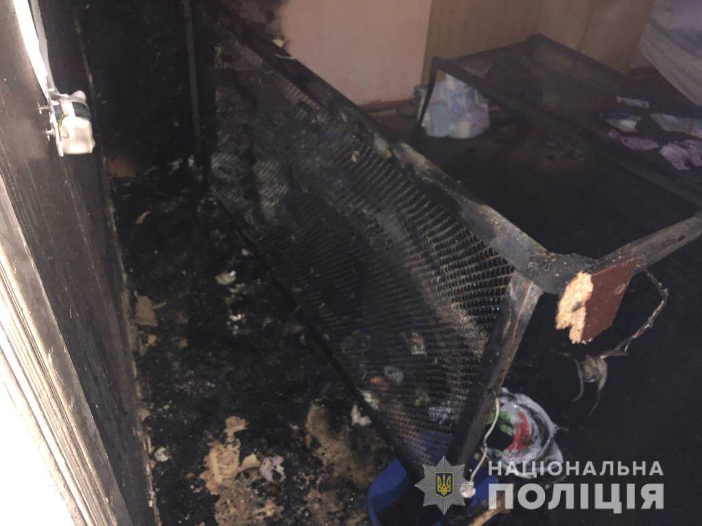 Пожар произошел из-за обогревателя.