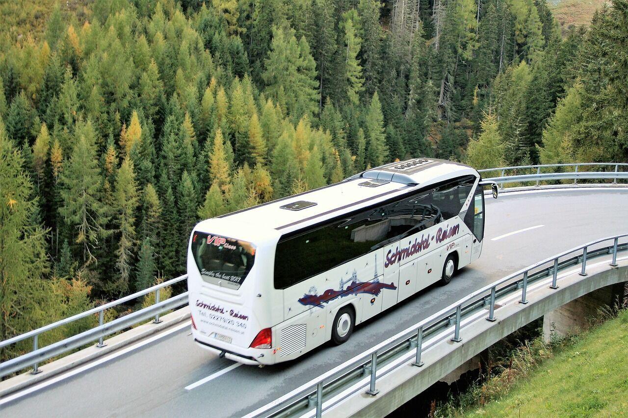 Украинцы любят путешествовать автобусом