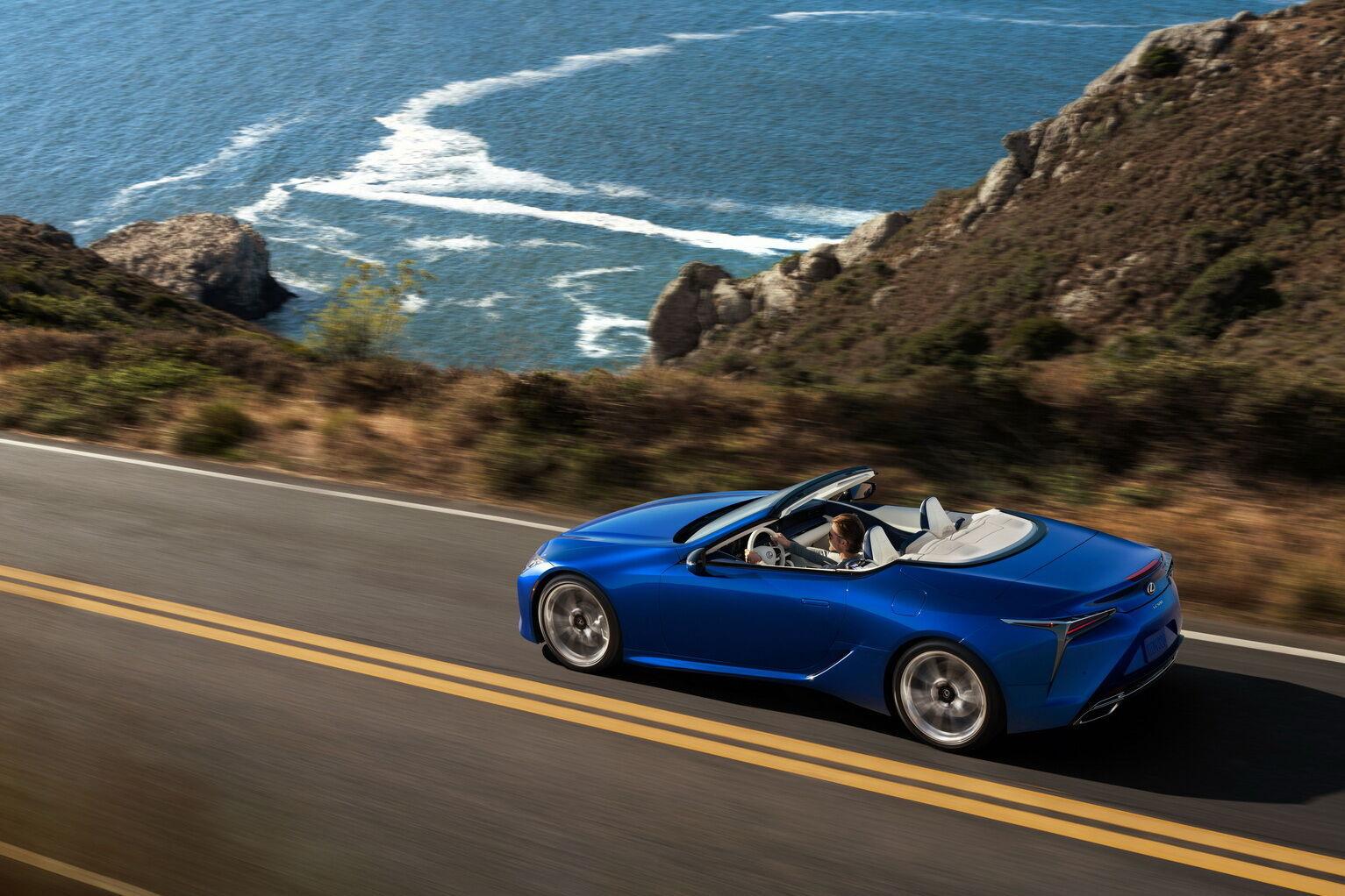 Кабріолет Lexus LC 500 Convertible Inspiration Series