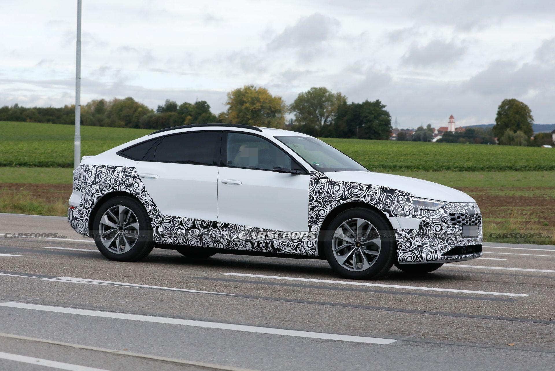 Прототипы e-tron Sportback заметили на дорогах Германии