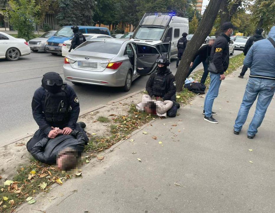 В Харьковской области задержали банду