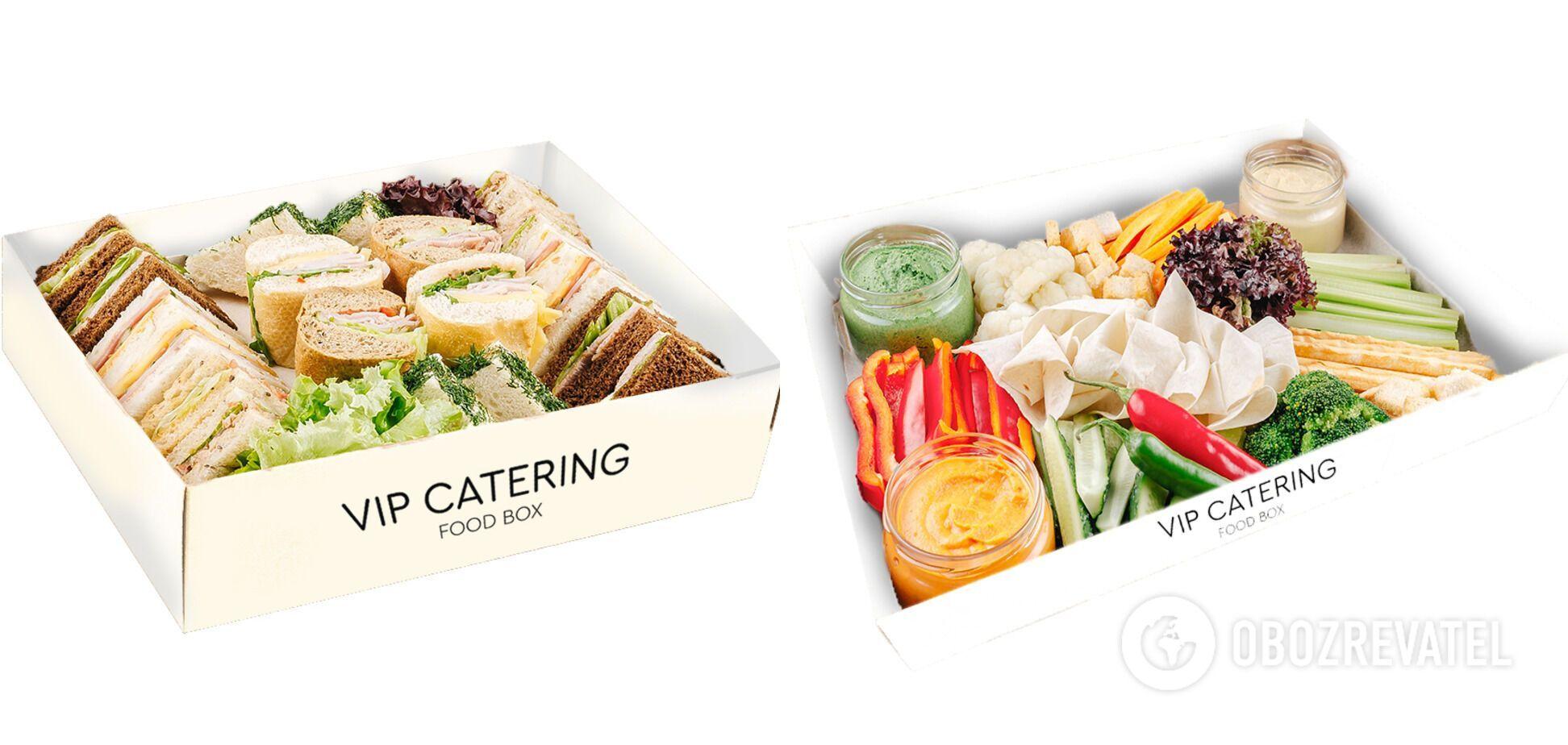 Упаковки для їжі використовуються виключно з еко-матеріалів