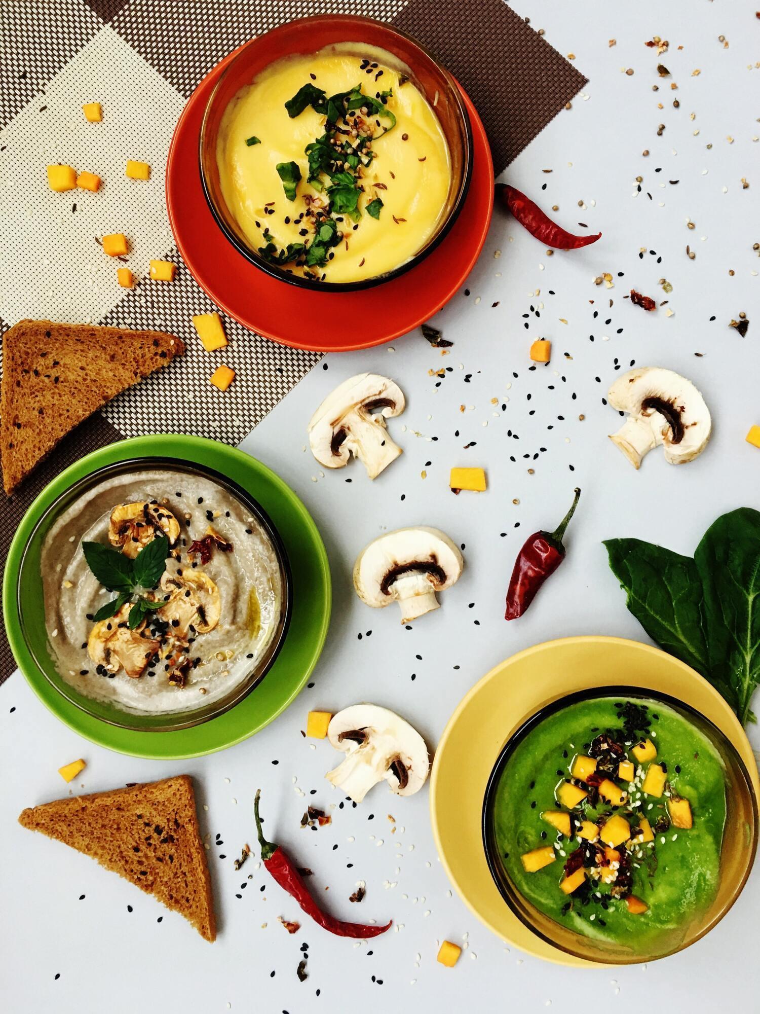 Суп-пюре з овочами