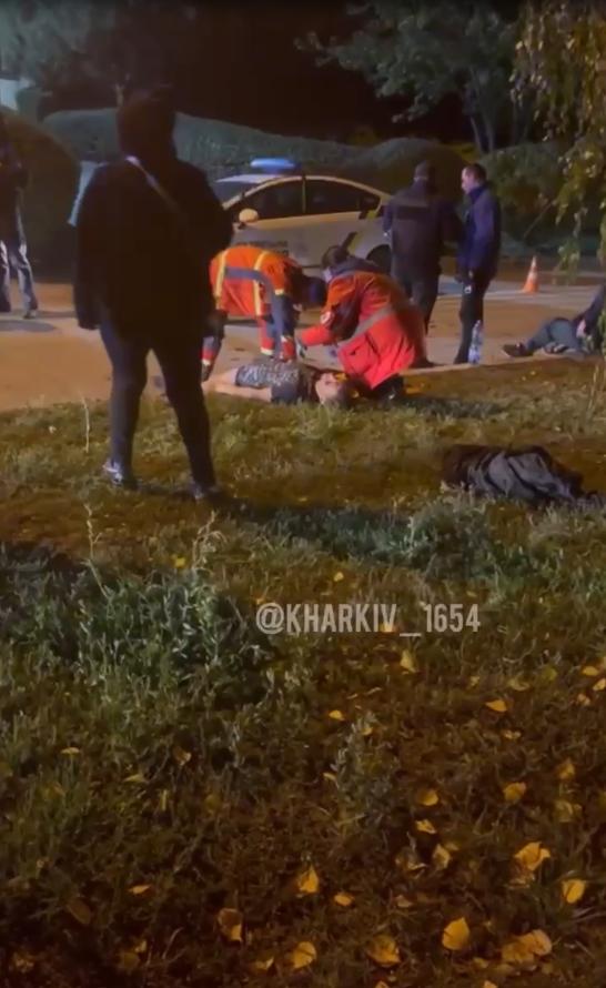 Драка с поножовщиной в Харькове