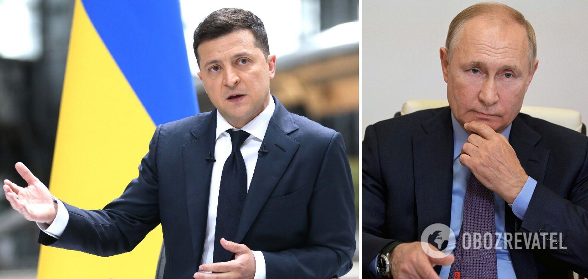 Зеленский предлагал встречу с Путиным тет-а-тет