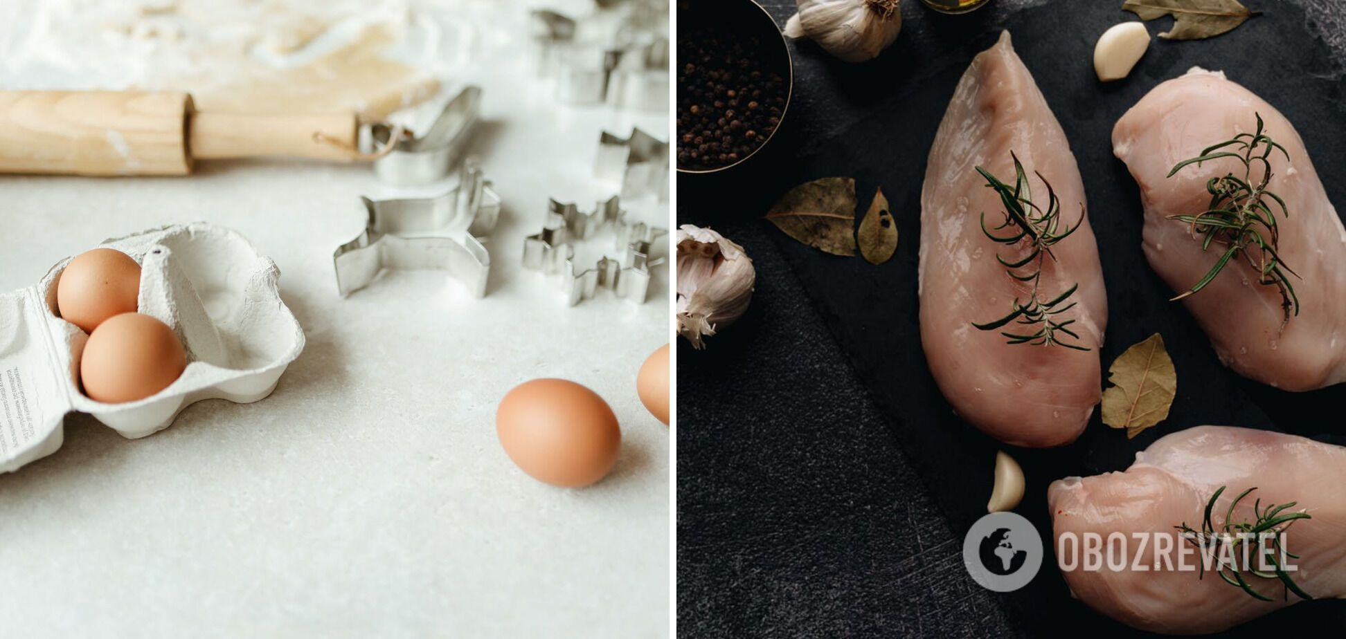 М'ясо та яйця – продукти, які не варто промивати під краном