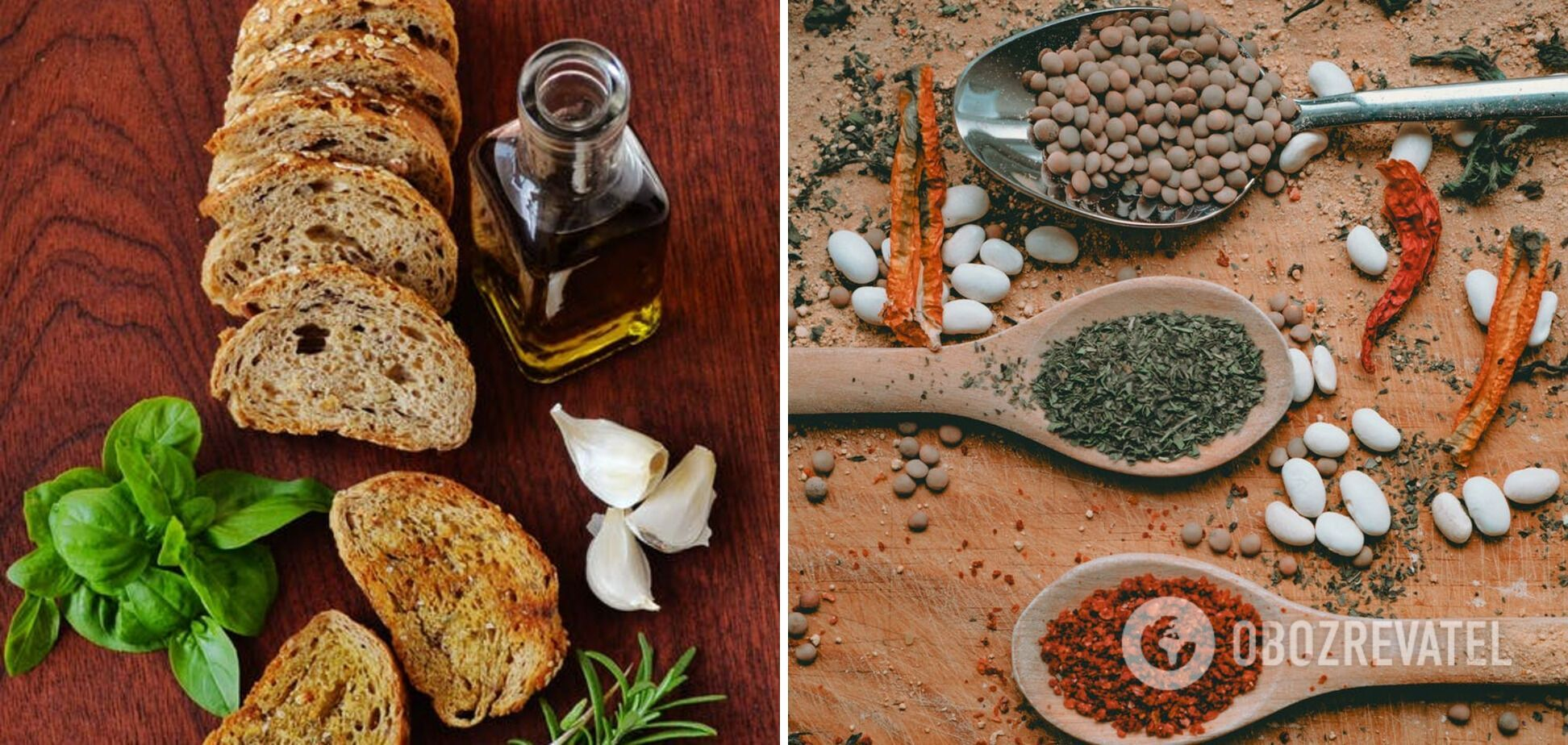 Оцет та спеції для смачного борщу