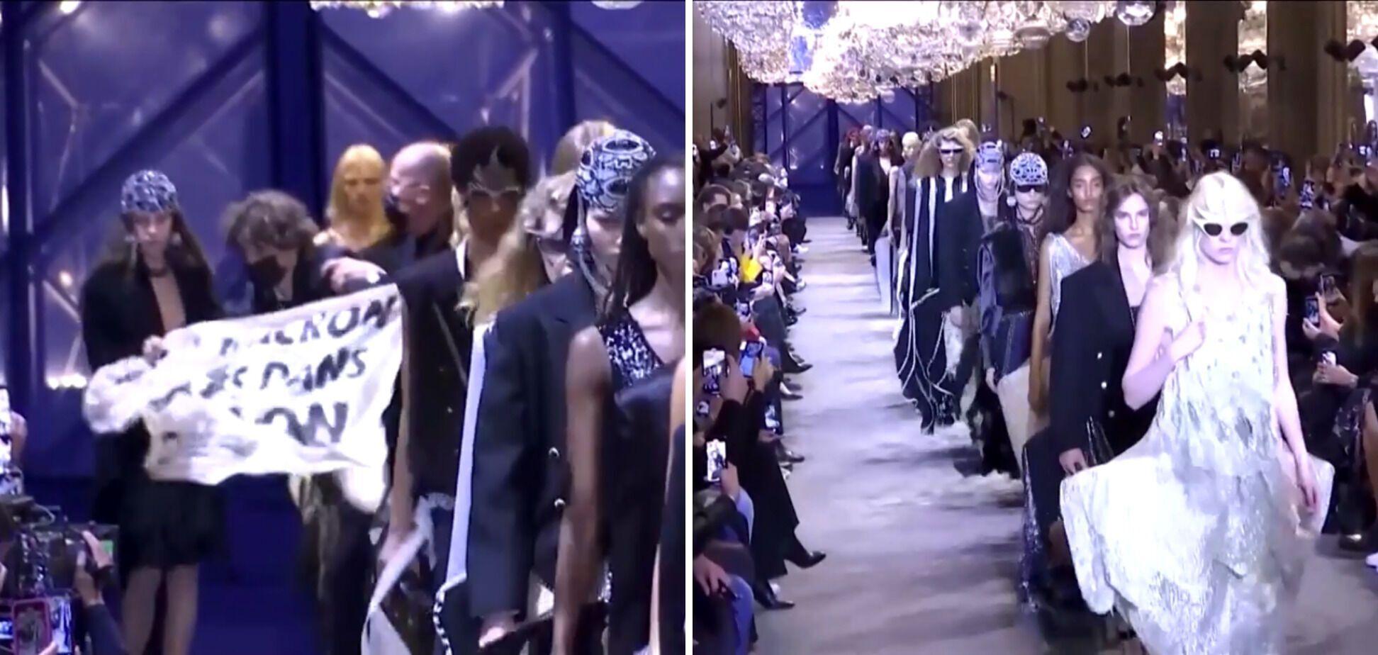 Зрив показу Louis Vuitton