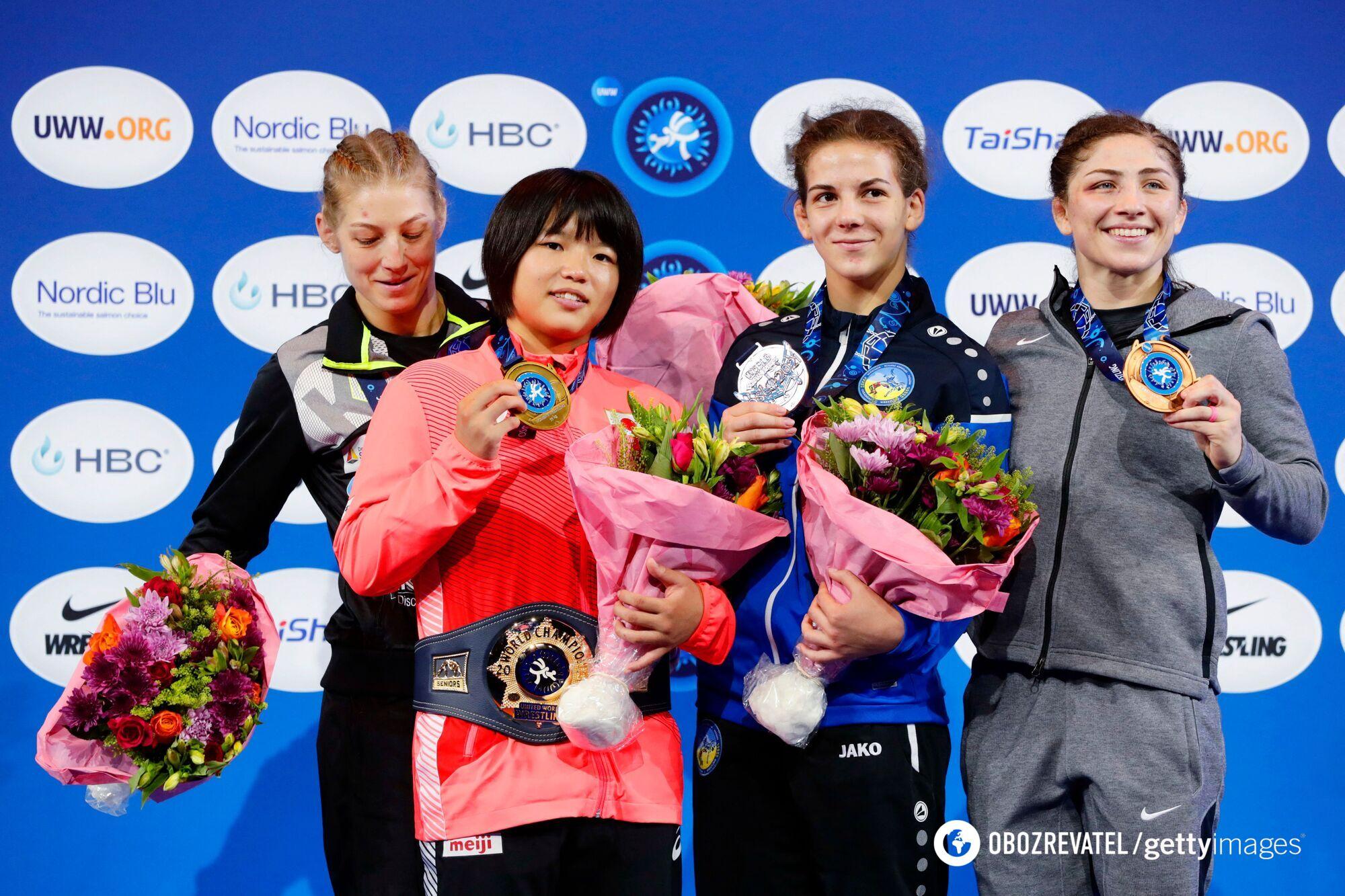 Олександра Хоменець з бронзою чемпіонату світу.