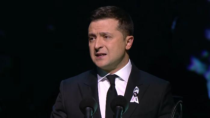 Владимир Зеленский выступил с речью