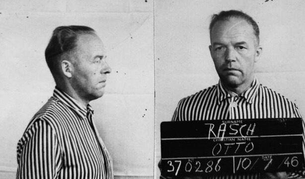 Отто Раш, 49 лет. Один из нацистских солдат, которые убивали евреев в Бабьем Яру.