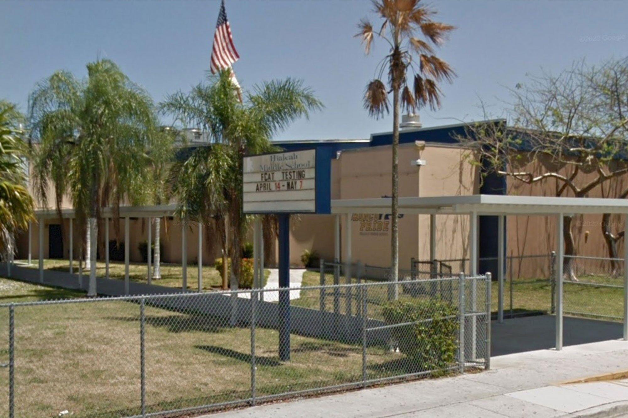 Школа Hialeah Middle.