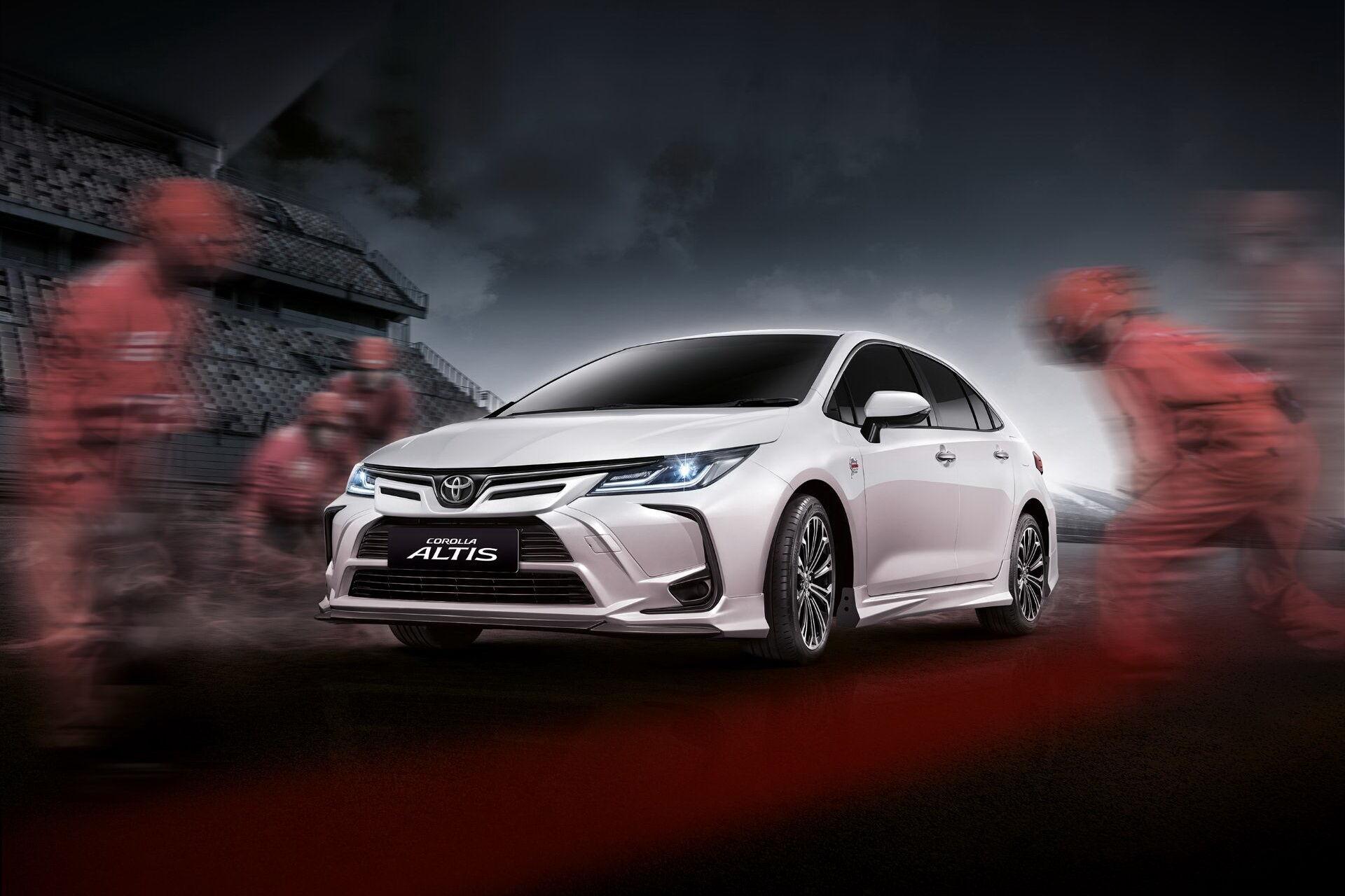 Toyota Corolla Altis Nurburgring