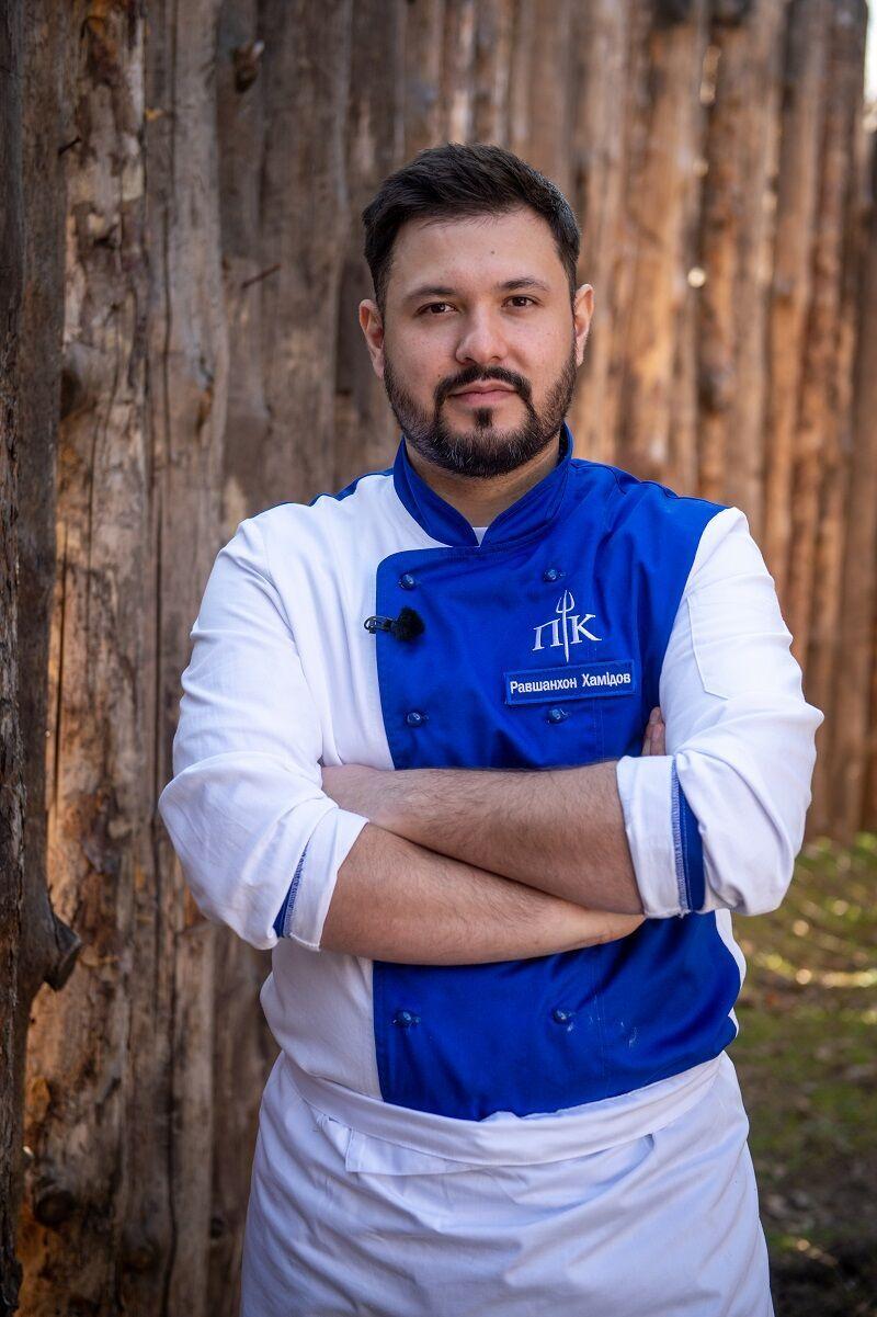 "Учасник реаліті ""Пекельна кухня"" Равшан Хамідов"