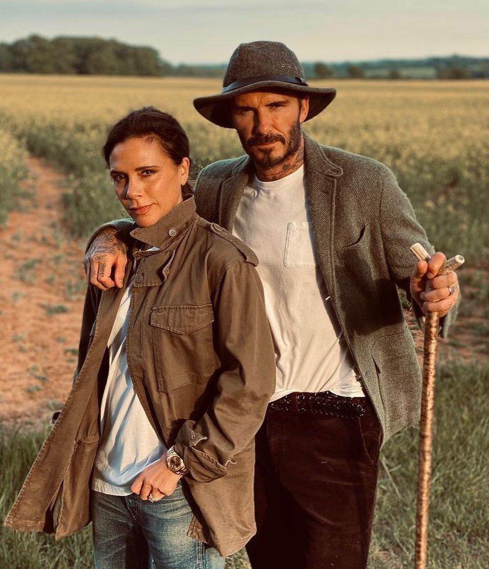 Девід і Вікторія Бекхем після 22 років разом.