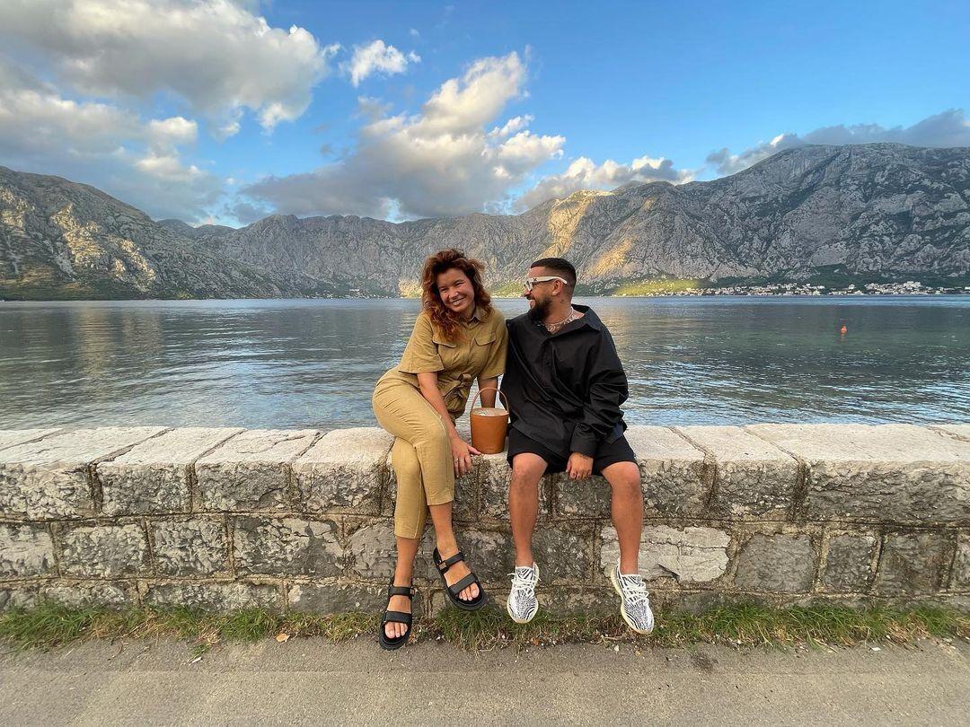 Дмитро Монатік із дружиною