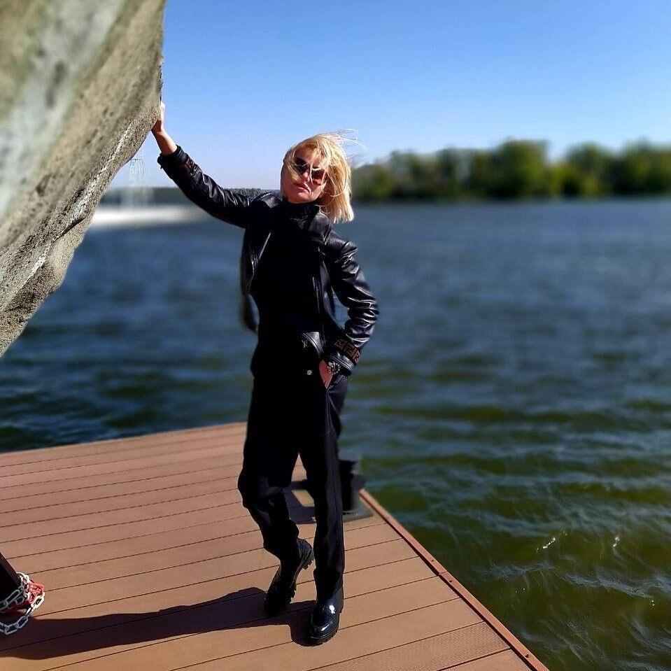 Женщина публиковала фото из Днепра